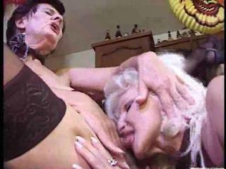 naughty elderly lesbos inside a heat