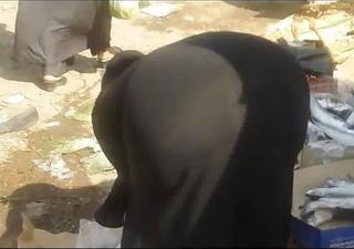arab street voyeur - large ass candid - spying