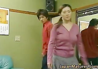 japanese aged woman is a beauty part6