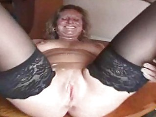 heavy grownup whore into pantyhose is a sperm ho