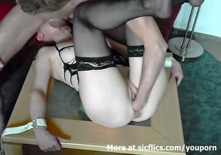 dilettante housewife fist drilled in servitude