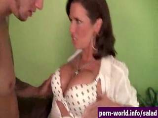 crazy hot mature babe veronica avluv feasts on