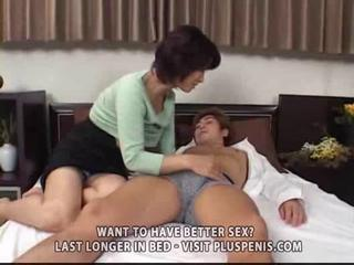 entreats milf and son with sex toy part1