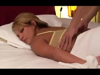 inexperienced bleached wife massaged by japanese
