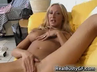 horny slutty milf pleases with her vagina part6