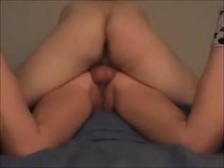ass woman own arse sperm
