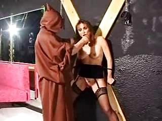 bondage grownup slave into punish