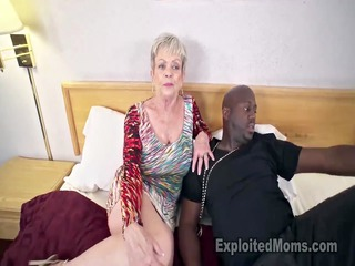 breasty elderly into cumshots clip
