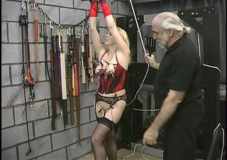 thick large booty sadomasochism lesbo is tortured