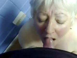 cumming in mouth of my elderly aunt !!
